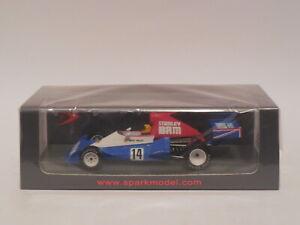 1/43 Spark S4798  BRM P201  # 14  Mike Wilds  1975 Brazilian GP