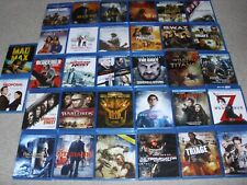 LOT OF (32) BLU RAY MOVIES. VERY GOOD CONDITION.