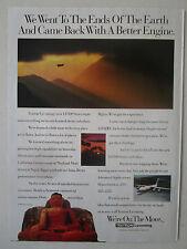 1991 PUB TEXTRON LYCOMING LF500 SERIES TURBOFAN ABE 146 UNITED EXPRESS NEPAL AD