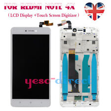 For Xiaomi Redmi Note 4X LCD Display Touch Screen Full Replacement Frame White