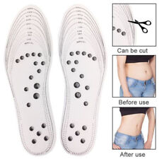 Unisex Acupressure Slimming Insoles Foot Massager Magnetic Therapy Weight Loss