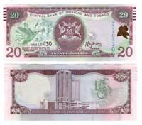 TRINIDAD & TOBAGO UNC $20 Dollars (2006) P-49b Rambarran Banknote Paper Money