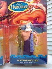 Lightning Bolt Zeus Disney's Hercules Action Figure Brand New