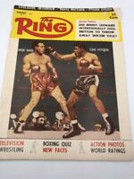 The Ring Vintage Boxing Magazine 1957 January Archie Moore Floyd Patterson Champ