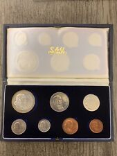 1966 South Africa 7 Coin Set - Suid-Afrika - In Case