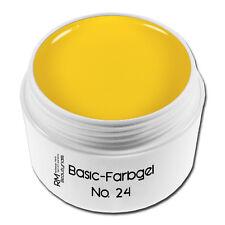 Farbgel Colorgel UV-Gel 5ml No.24 Gelb Yellow Nageldesign Nailart #00730-24