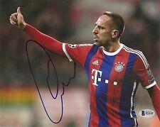 Frank Ribery Bayern Munich World Cup Signed Auto 8x10 Photo Beckett BAS COA