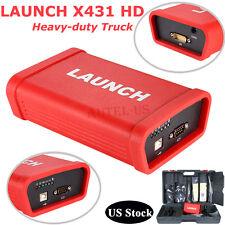 LAUNCH X431 HD Heavy duty Model Diagnostic Scanner F 12V 24V Diesel Engine TrucK
