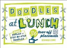 Doodles At Lunch Placemats - Acceptable - Zemke, Deborah - Stationery