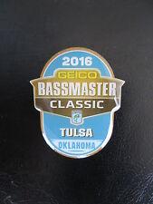2016 Bassmaster Classic Pin - Tulsa, Oklahoma