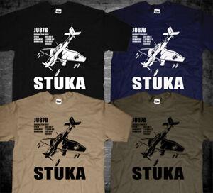 Junker JU87 Stuka German Aircraft Bomber Luftwaffe Air Force World War 2 T-shirt