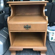 Ethan Allen Baumritter Heirloom Maple Nutmeg Nightstand