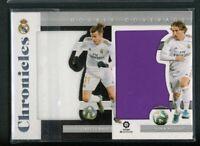 2019-20 Gareth Bale Luka Modric Jersey Panini Chronicles Double Coverage