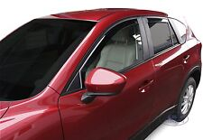 DMA23157 MAZDA CX-5 CX5  SUV 2011 - 2016 wind deflectors 4pc set TINTED HEKO