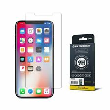 GPEL® iPhone X Screen Protector Case Friendly 9H HD Clarity Real Tempered Glass