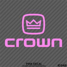 Crown Audio Car Stereo Vinyl Decal Sticker V1 - Choose Color