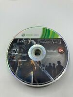 Microsoft Xbox 360 Disc Only Tested Dragon Age 2 - Bioware Signature Ships Fast