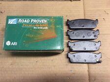 New ARI Roadproven 63-D588 Premium NAO Disc Brake Pad Pads