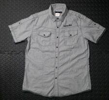 Men's Pre-Owned Nickelodeon Spongebob Western Snap Button Shirt  SZ L MultiColor