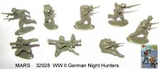 32028 Mars 1/32 WWII German Night Hunters  toy soldiers 15 in 8 poses