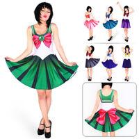 Halloween Japanese Cafiona SailorMoon Cosplay Anime Costume Uniform Lovely Dress