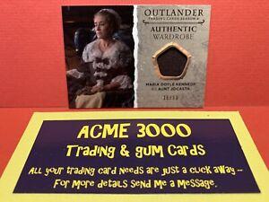 2020 OUTLANDER Season 4 WARDROBE CARD MARIA DOYLE KENNEDY Aunt Jocasta M10 15/99