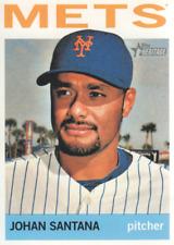 2013 Topps Heritage New York Mets Baseball Card #113 Johan Santana