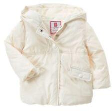 GYMBOREE Girl Winter Puffer Jacket Coat Ivory White 12-24 M NWT Cozy Fairytale