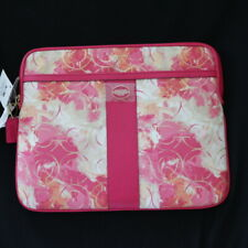 NWT COACH 64609 Abstract Flower Floral Gold Sig iPad Tablet Kindle Sleeve Cover