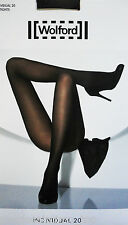 Wolford collant Individual 20 nero black 18267 serie Lusso Pantyhouse calze