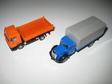 Herpa H0 143141 & 143448 - 2 camiones