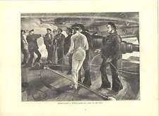 1871 incisioni CULATTA gommate contro MUSO gommate GUN DRILL in Blu Scuro