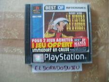 ELDORADODUJEU >>> LUCKY LUKE LA FIEVRE DE L'OUEST Pour PLAYSTATION 1 PSX VF
