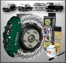 Vintage Warehouse 65 Brake Caliper & Drum Enamel Paint Kit British Racing Green