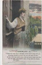 POSTCARD  SONG CARDS   Shadowland  (3)