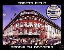 Brooklyn Dodgers - EBBETS FIELD - Fridge Magnet