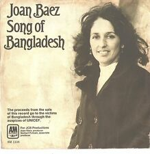 JOAN BAEZ--PICTURE SLEEVE ONLY--(SONG OF BANGLADESH)--PS--PIC--SLV