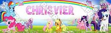 """My Little Pony Poster Banner 30"""" x 8.5"""" Personalized Custom Name Printing"""