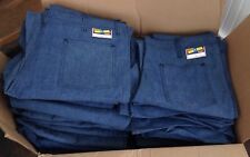 Vintage SMITH'S Denim Jeans Dungarees 1960-70's Wide Flare Bell Bottoms 42/S NOS
