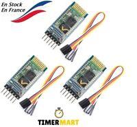 Lot de 3 Pcs HC-05 RS232 TTL Sans fil Bluetooth RF émetteur récepteur Arduino