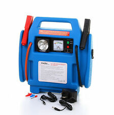 Battery jump starter pack booster compresseur air light chargeur portable voiture 12v