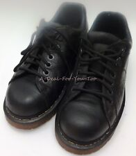 DR MARTENS Black AW004 Air Wair Low Top Oxford Cushion Sole Shoes Men 7 Woman 8
