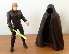 STAR WARS POTF LUKE SKYWALKER JEDI KNIGHT WITH GREEN SABRE LFL 1996 Kenner China