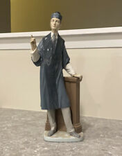 Lladro 1974-85 Barrister Lawyer Attorney Porcelain Figurine 15.75Spain Rare Mint