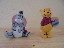 Vintage Disney's Winnie the Pooh and Eeyore Ceramic Figures
