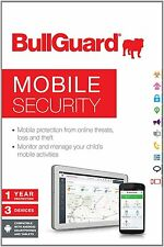 BullGuard Android Mobile & Tablet for 3 Internet Security & Antivirus Protection