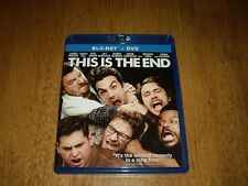 EEUC This Is The End  Blu-ray and DVD Movie 2 disc