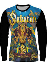 NEW COTTON AllOVER FRONT PRINT SABATON LONG SLEEVE SHIRT!