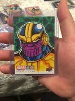 2019 Upper Deck Marvel Studios Thanos SKETCH #1/1 Free Isabelo
