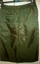 GENUINE VERSACE water/wind proof long skirt . Sz.12 yrs.old. Made in Italy